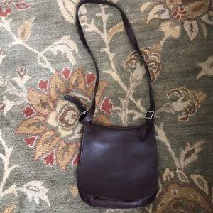 Vintage Coach Authentic Brown Leather Bag